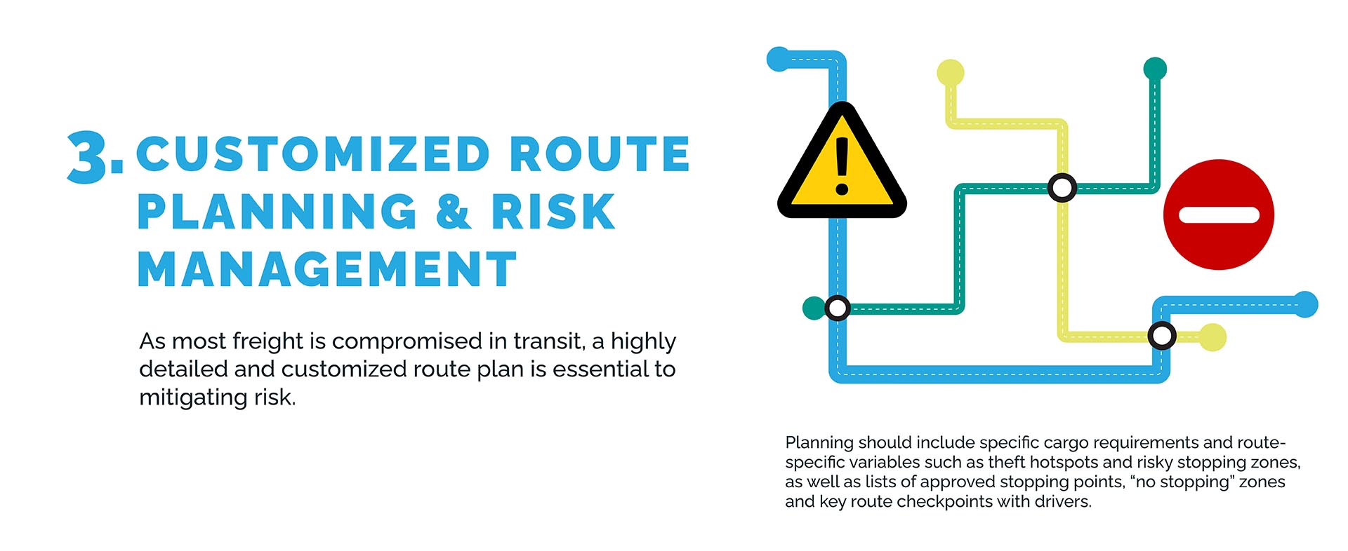 Customized Route Planning & Risk Management